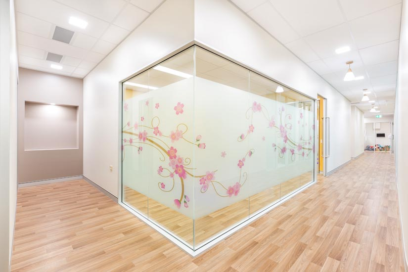 McKibbin Design Nurture Family Allied Health & Early Parenting Centre interior