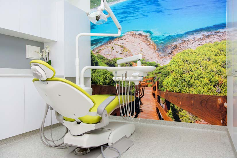 McKibbin Design Dental Care Xtra wall graphics