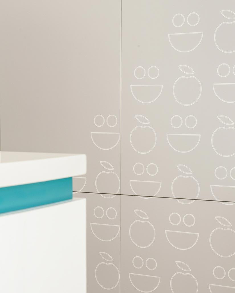Bupa McKibbin Design wall graphics