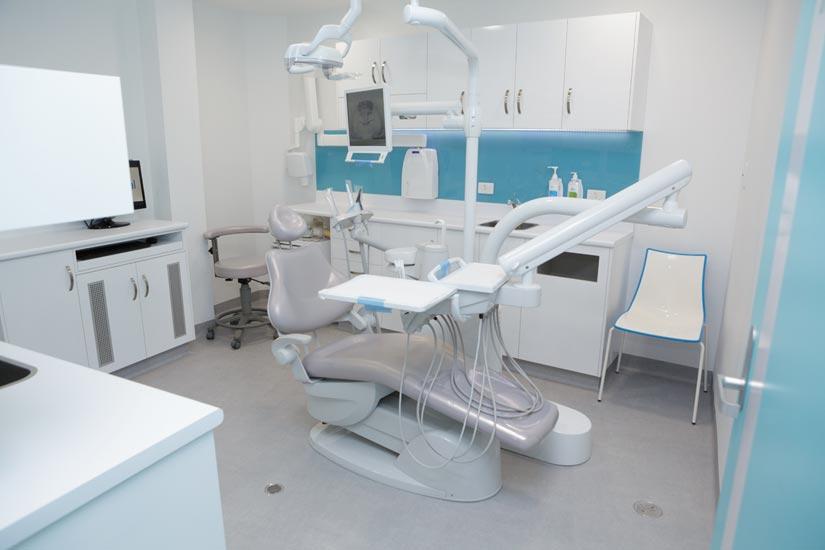 Bupa McKibbin Design dental treatment room
