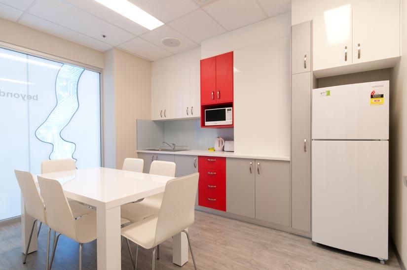 The Dental Club McKibbin Design kitchen fitout
