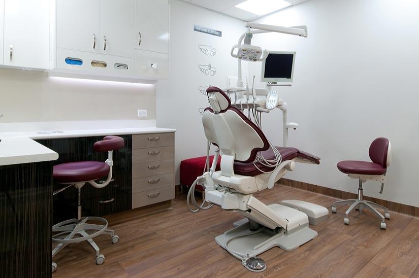 The Dental Club McKibbin Design dental treatment room fitout
