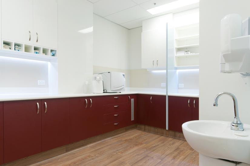 The Dental Club McKibbin Design storage