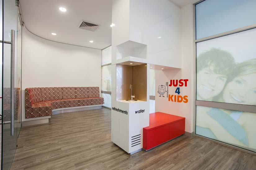 My Family Dental McKibbin Design waiting area