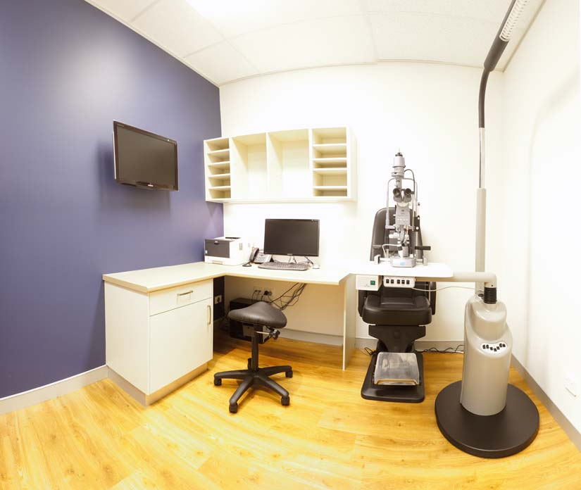 McKibbin Design Northpoint Eye Care fitout office