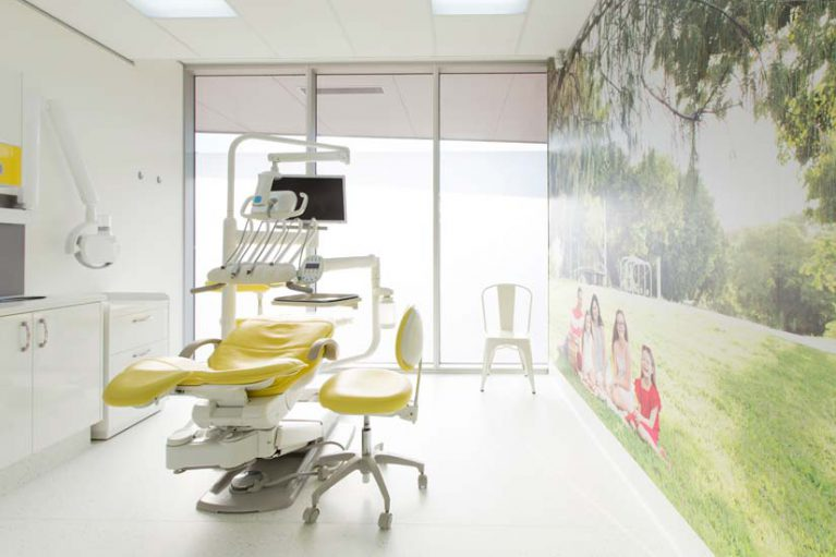 McKibbin Design Queensland Country Dental treatment room graphics