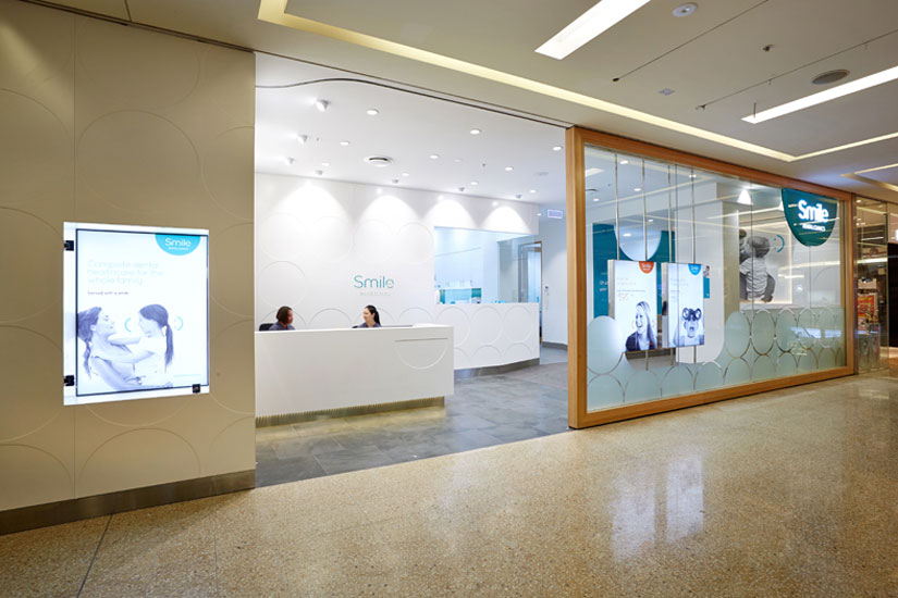 McKibbin Design Smile Dental Clinic fitout exterior